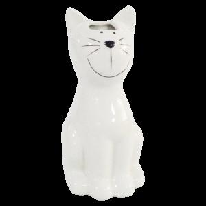 Nawilżacz ceramiczny biały kot