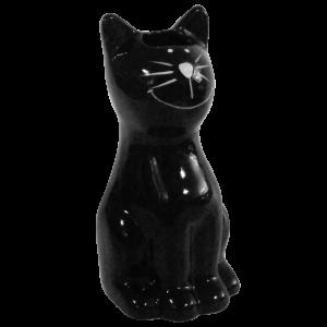 Nawilżacz ceramiczny czarny kot