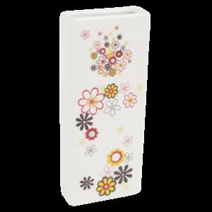 Nawilżacz ceramiczny kwiaty – motyw brąz