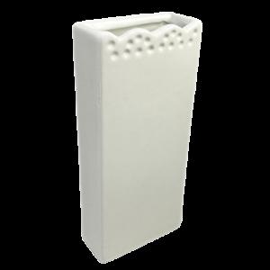 Nawilżacz ceramiczny, prostokątny z tłoczeniem