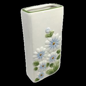 Nawilżacz ceramiczny, kwiaty zielone